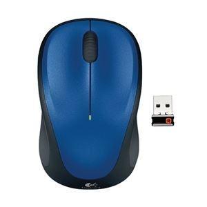 【商品名】 ロジクール ワイヤレスマウス M235r ブルー M235rBL 【ジャンル・特徴】 ク...