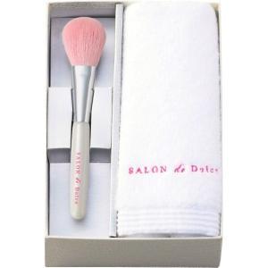 SALON de Dolce 熊野 侑昂堂の化粧筆 フェイスブラシ&今治タオル SD-1299|wnet