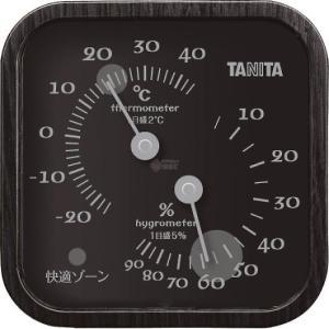 タニタ 温湿度計 ブラック TT-570-BK|wnet