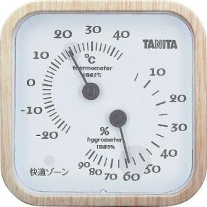 タニタ 温湿度計 ナチュラル TT-570ーNA|wnet