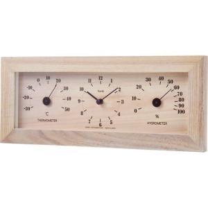 フォレ温・湿度計・時計 TQ-4733|wnet