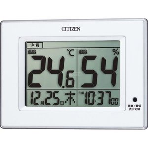 シチズン 温湿度計(掛置兼用) 8RD200ーA03|wnet