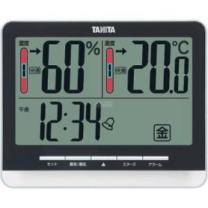 タニタ デジタル温湿度計  ブラック TT538BK|wnet