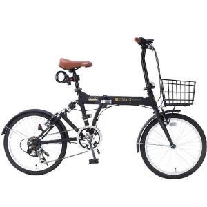 My Pallas マイパラス SC-07 PLUS-BK 20インチ 6段変速 リアサス付折り畳み自転車 マットブラック|wnet