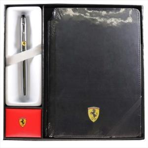CROSS クロス フェラーリ センチュリーII ローラーボール&ノートブック ポリッシュトクローム ボールペン fr0085x121x1m|wnet