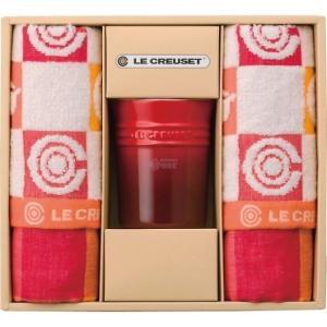 ル・クルーゼ キッチンタオル&マルチスタンドセット オレンジ 950099-54-09|wnet