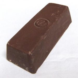 有明鍍研材工業 赤棒 固形研磨剤 トリポリ S-1 鉄・ステンレスの下磨き用 800g|wno