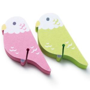 プレゼント ギフト キッチンスポンジ2個セット インコ|wochigochi