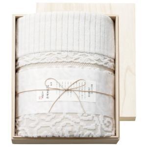 プレゼント ギフト 今治謹製 紋織タオルケット タオルケット(ベージュ)|wochigochi