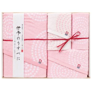 プレゼント ギフト 伊予のうすべに タオルセット|wochigochi