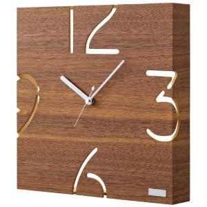 プレゼント ギフト 掛時計(ウォールナット)|wochigochi