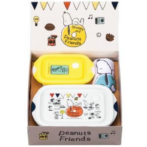 父の日 お中元 御中元 プレゼント ギフト 内祝い スヌーピー 電子レンジ容器&タオル3点セット|wochigochi
