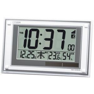 プレゼント ギフト シチズン ソーラーパワーアシスト式電波掛置兼用時計|wochigochi
