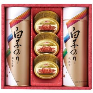 プレゼント ギフト 白子のり のり・かに缶詰合せ|wochigochi