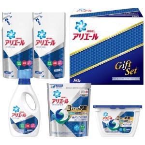 プレゼント ギフト お中元 P&G アリエール イオンパワージェル&ジェルボールセット|wochigochi