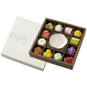プレゼント ギフト カメヤマローソク 和菓子型キャンドル・皿セット wochigochi