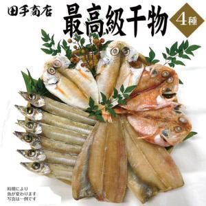 プレゼント ギフト 田手商店 干物セット 4種|wochigochi