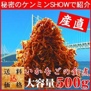 暑中見舞 お中元 ギフト 秘密のケンミンショー 兵庫 いかなごのくぎ煮 いかなごの釘煮 500g|wochigochi