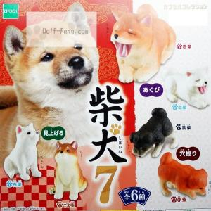 柴犬7 全6種 (定形外発送可能 クレカ決済 2セット分まで)|wolffang