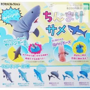 ちんまりサメ 全6種(定形外発送可能 クレカ決済 2セットまで)|wolffang