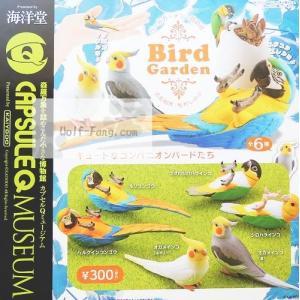 海洋堂カプセルQミュージアム Bird Garden 全6種(定形外発送可能 クレカ決済 2セットまで )|wolffang