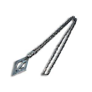 SKULL FLIGHT/スカルフライトSilver950 1% Pendant Top&Necklace; Chain/シルバー950製1%ペンダン