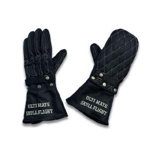 """全8色【SKULL FLIGHT/スカルフライト】""""Ultimate Bone Glove/アルティメットボーングローブ"""""""