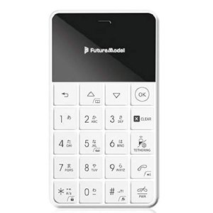 薄さわずか9.5mm、超軽量52g 魅力的なカードサイズ携帯  製品名 : NichePhone-S...