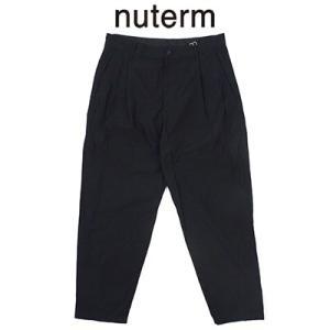 ニューターム nuterm テーパードワークトラウザー Tapered Work Trousers 001PT-019S 2019春夏 2019SS|womanremix