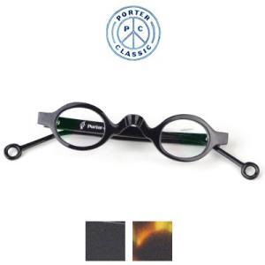 ポータークラシック Porter Classic カツ クラシックグラス KATSU CLASSIC GLASSES - BLACK BROWN - PC-013-1052 womanremix