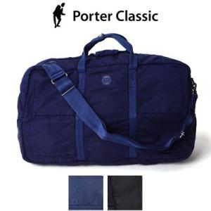 ポータークラシック Porter Classic スーパーナイロントラベルボストン M SUPER NYLON TRAVEL BOSTON (M) PC-015-710|womanremix