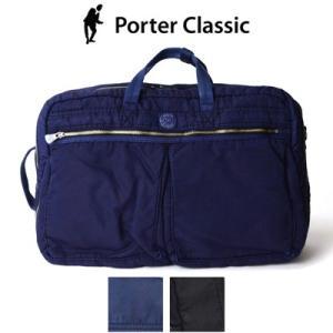 ポータークラシック Porter Classic スーパーナイロン3WAYブリーフケース L SUPER NYLON 3WAY BRIEFCASE (L) PC-015-711|womanremix