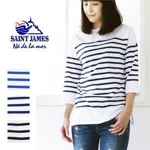 セントジェームス Saint James 七分袖Tシャツ|womanremix