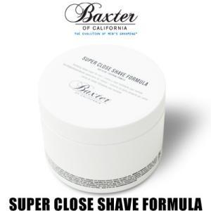 バクスター オブ カリフォルニア Baxter of California クロースシェーブクリーム ジャー SUPER CLOSE SHAVE FORMULA 240ml 02015|womanremix