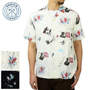 ポータークラシック Porter Classic【正規販売店】フィルムノワールアロハシャツ