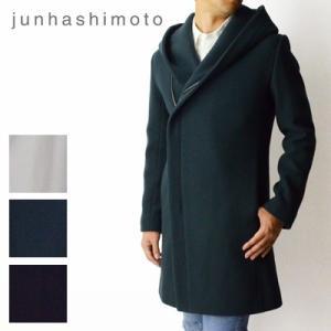 ジュンハシモト junhashimoto ラップコート wrap coat 1011820004 2018秋冬|womanremix