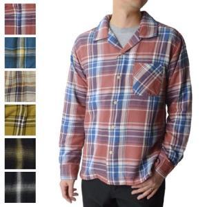 ファイブブラザー FIVE BROTHER ライトフランネルワンアップシャツ LIGHT FLANNEL ONE-UP SHIRT 151902 オープンカラー 開襟|womanremix