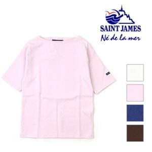 セントジェームス Saint James ウエッソン ショート OUESSANT SHORT ウェッソン半袖 17JC OUESS MC U|womanremix