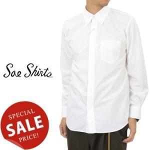 Soe Shirts ソーイシャツ 103/2 Cotton Broad Cloth Basic B.D. Collar Shirts ブロードクロスベーシックボタンダウンシャツ 2163-81-001|womanremix