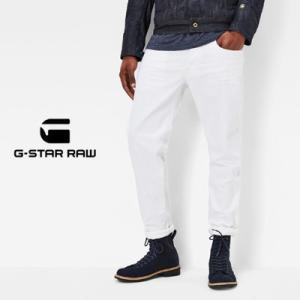 ジースターロウ G-Star RAW 3301 テーパードジーンズ 3301 Tapered Jeans ホワイトストレッチデニム 51003-6729-1241 71 womanremix