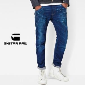 G-Star RAW ジースターロウ Arc 3D Slim Jeans アーク3Dスリムジーンズ ミディアムエイジド ペインテッド レストアド 2016AW womanremix