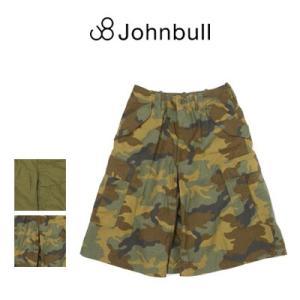 ジョンブル Johnbull  コットン ミリタリー キュロットスカート AK694|womanremix
