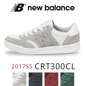 ニューバランス New Balance  CRT300 レディース/メンズ キャンバス/スエードスニーカー コートモデル 2017SS|womanremix