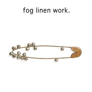 fog BRASS SAFETY PIN BELL M ブラスセイフティピン ベル M IHC522M-B|womanremix
