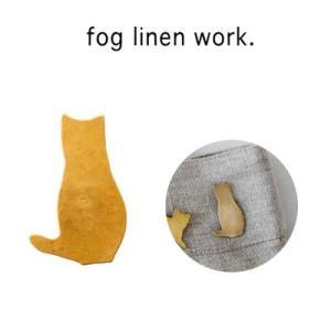 fog BRASS BROOCH GOBAN ブラスブローチ ゴバン IHC625-G/IHZ625-G|womanremix