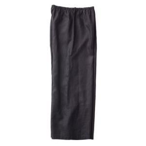 fog linen work フォグリネンワーク LINEN PETTIPANTS BLACK リネン ペチパンツ ブラック LHW071-17|womanremix