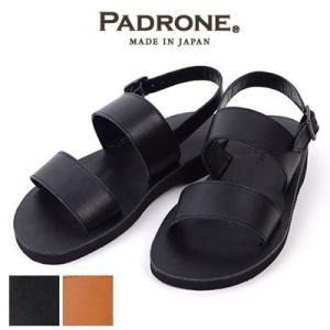 パドローネ PADRONE バックストラップレザーサンダル LUCA PU5359-3202-17B ビブラムソール|womanremix