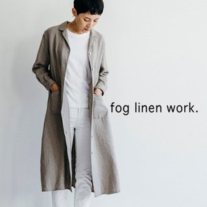 fog linen work フォグリネンワークCATH DRESS NATURAL キャス ワンピース ナチュラル LWA073-N|womanremix
