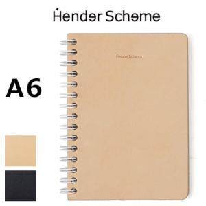 エンダースキーマ Hender Scheme リムーバブルリングノート removable ring note A6 nc-rc-na6|womanremix