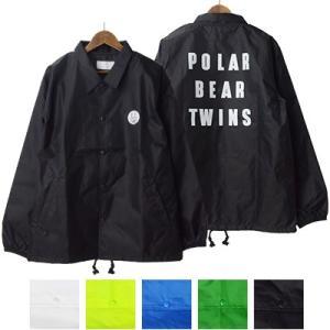 ポーラーベアーツインズ POLAR BEAR TWINS ジュンハシモト junhashimoto コーチジャケット COACH JACKET P041910001|womanremix